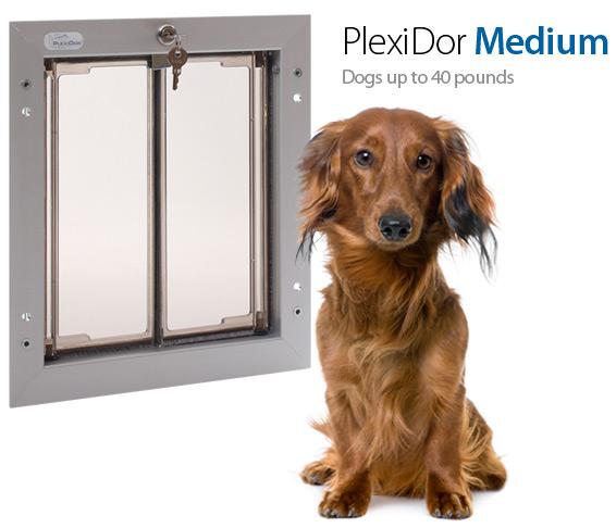 Medium PlexiDor Door Mount Pet Door