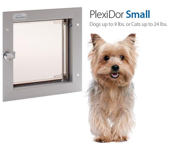 Small PlexiDor Door Mount Pet Door