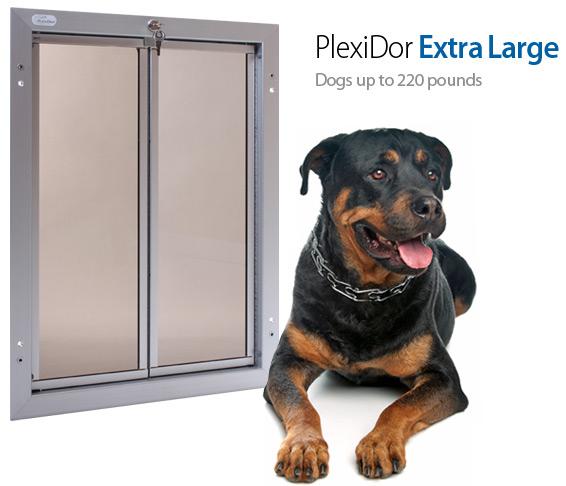 X-Large PlexiDor Door Mount Pet Door